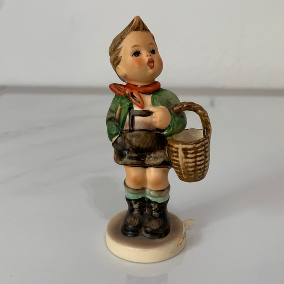 Hummel Village Boy Figurine